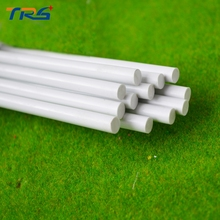 50pcs 5.0mm Round Rod ABS Plastic JYG-5.0 50cm length