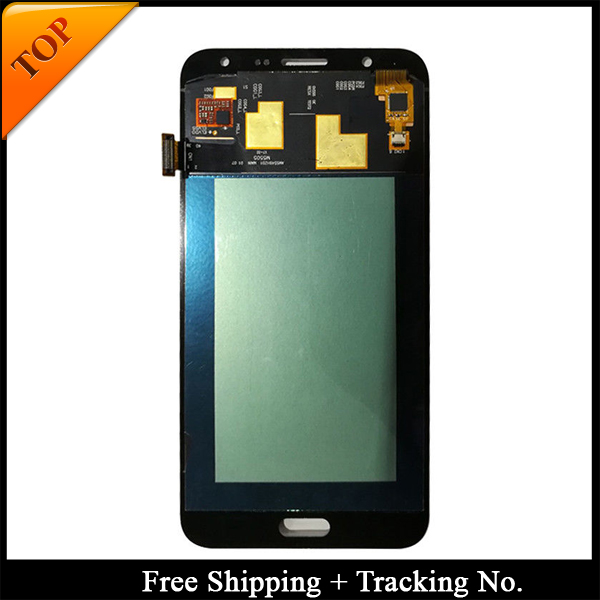 Tracking No 100 tested Super AMOLED For Samsung J7 2015 LCD J700F J700 Display LCD Screen