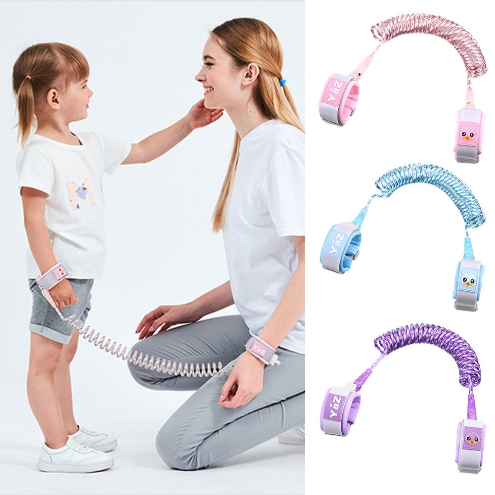 New Reflective Children's Anti-Lost Traction Rope Adjustable Child Harness Kids Rope With Key Baby Outdoor Security Assistant