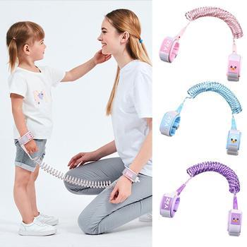 Nuevo reflectante niños Anti-perdido tracción cuerda ajustable Niño arnés niños cuerda clave del bebé al aire libre de Auxiliar de Seguridad
