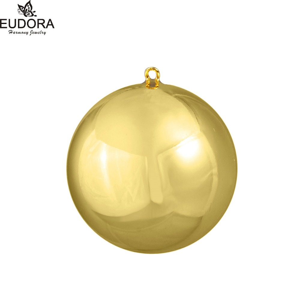 Gold Bola Eudora Harmony Ball Angel Caller Chime Ball fit for Pregnancy Women Musical Sound Baby Mexican Bola Pendant Jewelry