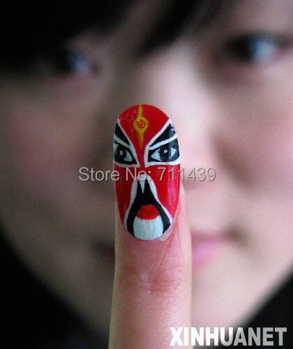5 kuku lukisan dengan gambar Anda sendiri Persetujuan CE 5 kuku mesin - Nail art - Foto 4
