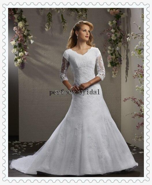 Lin789 wedding dresses for older brides latest decent wedding ...