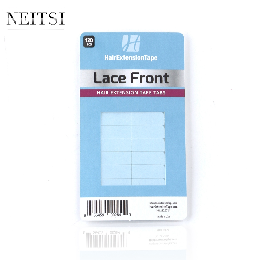 Image 5 - Neitsi 120 Tabs Lace Front/DUO PRO/Ultra Hold Pre cut Double Sided Tape USA Walker Tape For Tape in Hair ExtensionsAdhesives   -
