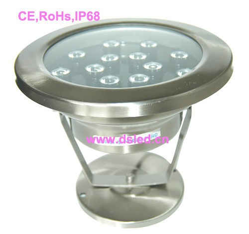 IP68,stainless steel 15W underwater LED light,LED pool light,24V DC,DS-10-62-15W,good qu ...