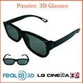 100 pieces/lot PC frame 3D Glasses Passive with 0.40 mm Hard Coated lenses Polarized 3D Glasses for passive 3D TV Lunette 3D