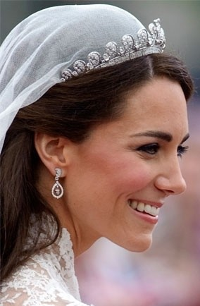 Woman Dangle Earrings Kate Middleton Inspired Royal Wedding Acorn Cz Diamond Drop Bridal Jewelry Daily Dae 0010 In From