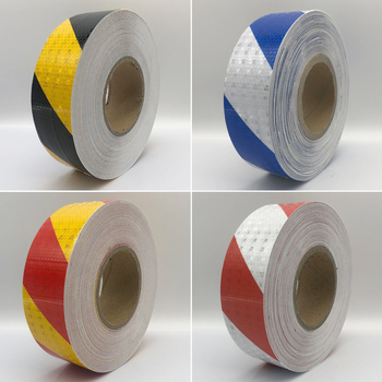 5cmx10m Car Reflective Material Tape Sticker Automobile Motorcycles Safety Warning Film Stickers - discount item  47% OFF Roadway Safety