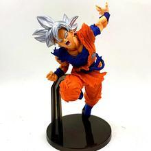 Dragon Ball Super Ultra Instinct Son Goku ПВХ фигурки аниме Dragon Ball Z Goku модель игрушечная Статуэтка DBZ Brinquedos