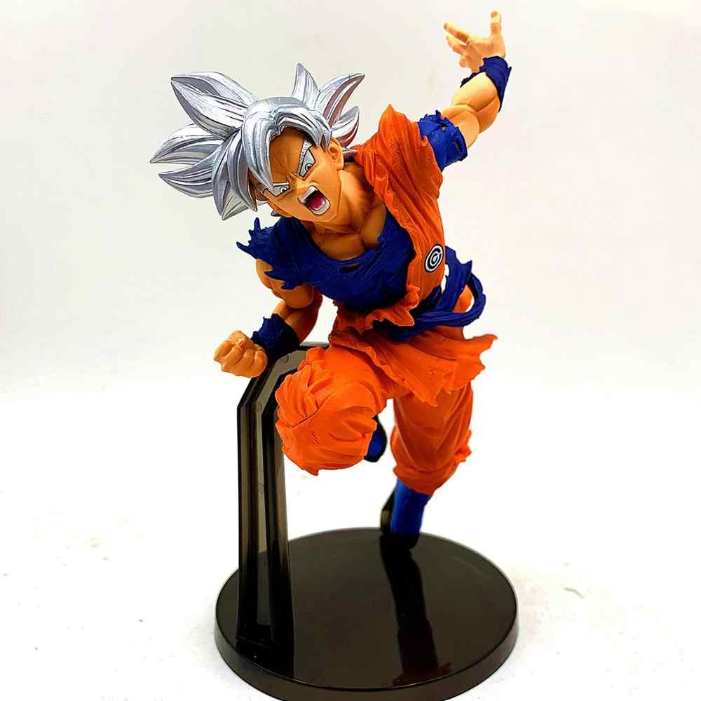 Instinto de Dragon Ball Super Ultra Son Goku Ação PVC Figuras Anime Dragon Ball Z DBZ Goku Modelo Toy Estatueta Brinquedos