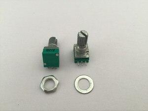 100 pcs B5K B1K A10K A50K B10K B20K B50K B100K B250K ohm 3 Pin Linear Rotary Potenciômetro para Amplificador De Potência