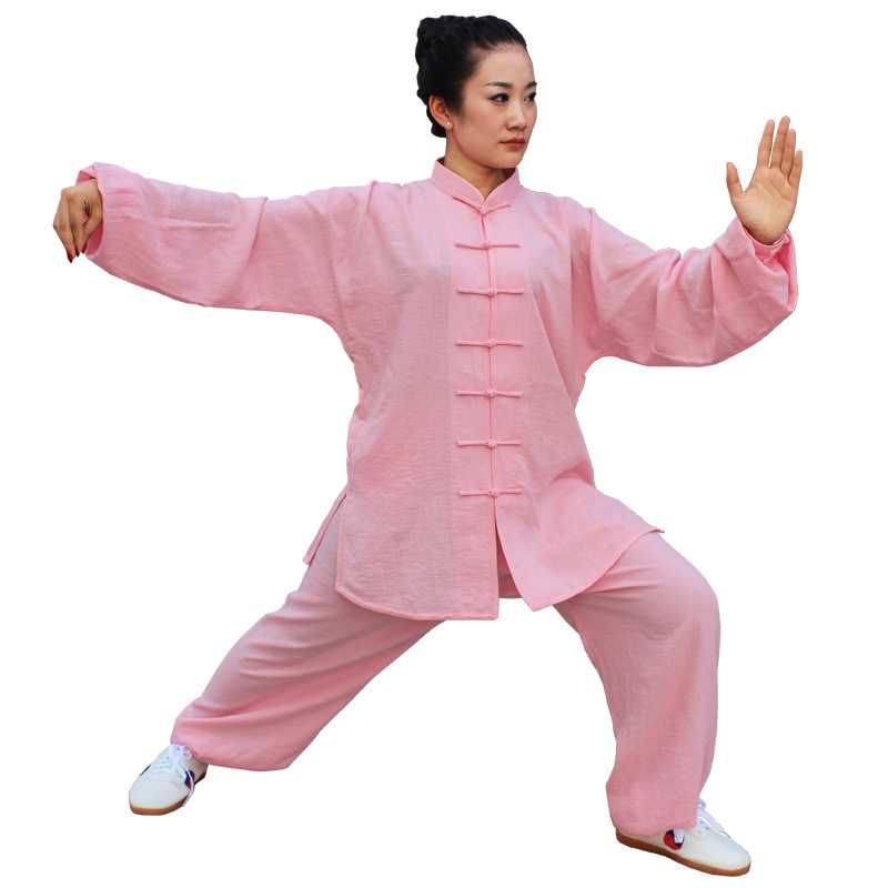 ФОТО ALYWY09 linen tai chi clothing men women tai chi suits quality martial arts clothing linen tai chi suits free shipping