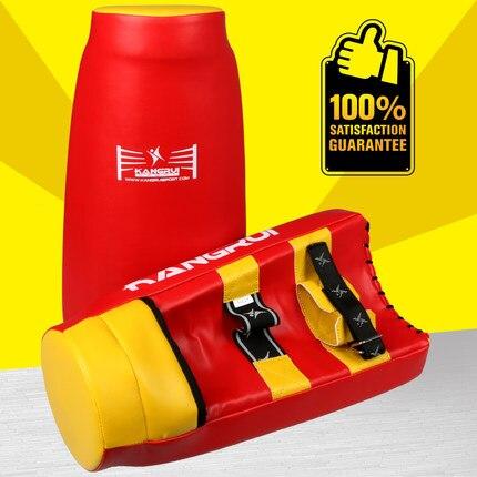 Cible de pied de boxe Super MMA tampon de frappe Focus Sanda gants d'entraînement karaté Muay Thai tampon de frappe femme/homme livraison gratuite