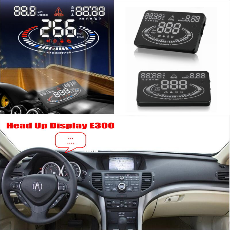 Liislee Car HUD Head Up Display For Acura TSX 2011 2012