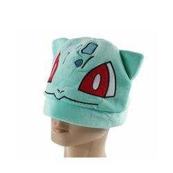 Детский Косплэй шляпа мультфильма вечерние Bulbasaur Плюшевые шляпа Кепки Косплэй Holloween
