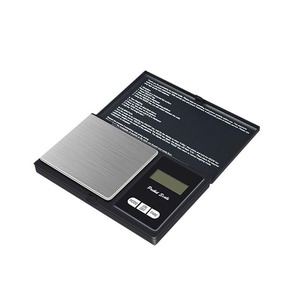 Image 3 - 100g 500g Precision pocket Jewelry Scales Laboratory Balance Portable digital Weight Gram scales Medicinal scale Libra steelyard