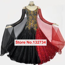 New Ballroom Dance Dresses Standard Stage Costume Performance Womens,Smooth Ballroom Dress,Modern Waltz Tango,competition dress