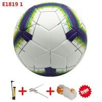 2018/19 Season Premier Soccer Ball Size 5 For Goal League football Sports Training Seamless PU Football ball futbol voetbal