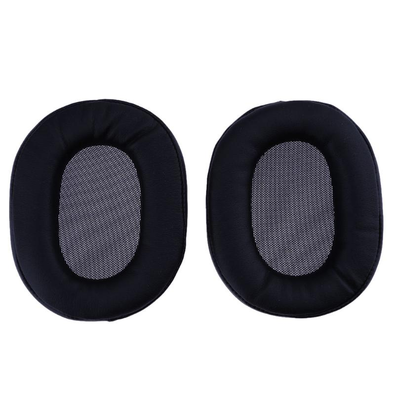 ALLOYSEED Replacement Ear Pads Cushion For SONY MDR 1R 1RNC 1RMK2 1RBTMK2 Headphones Protein Leather Soft Memory Foam