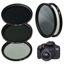 Универсальный фильтр ND 49 мм 52 мм 55 мм 58 мм 62 мм 67 мм 72 мм 77 мм для камер Canon Nikon sony аксессуары
