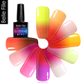 10ml 48 Temperature Change Color UV Gel Soak Off  Resin Pigment Holographic Nail Polish Changes Vernis Semi Permanent