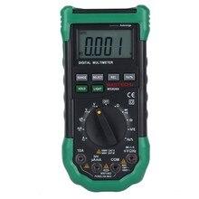 MASTECH MS8268 Цифровой Мультиметр Авто Диапазон защита ac/dc амперметр вольтметр ом Частотный электрический тестер детектор диод