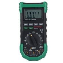 MASTECH MS8268 Multímetro Digital de Rango Automático de protección ac/dc del amperímetro del voltímetro del ohmio probador eléctrico de Frecuencia detector de diodo