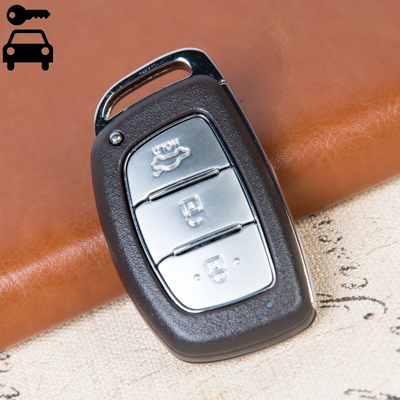 Free Shipping 3 Buttons Car Remote Key Card 433mhz With ID46 Chip For Hyundai IX35 New Key Lock Alarm Remote Key
