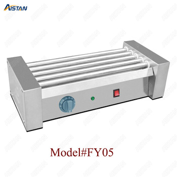 FY05 Stainless steel commercial hot dog grill/sausage grill/countertop electric hot dog making machine roller rolling machine 2