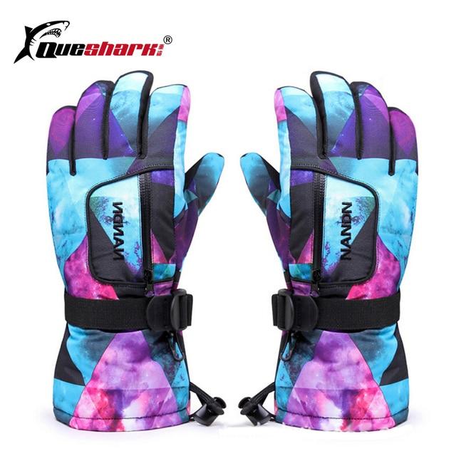 Для мужчин Для женщин детское Водонепроницаемый лыжные перчатки Зимние перчатки Сноуборд мотоциклетные Лыжный Спорт Восхождение велосипедные перчатки зимние варежки