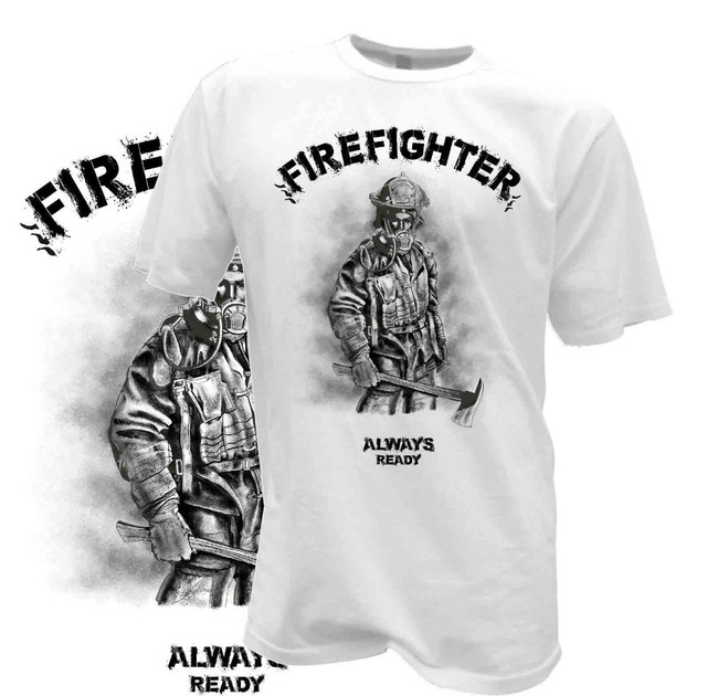 4fedc899c 2019 New Men Summer Style T-Shirt Firefighter Cult Shirt Fireman Firefighter  Rescue Service Funny Tee Shirt Ideas