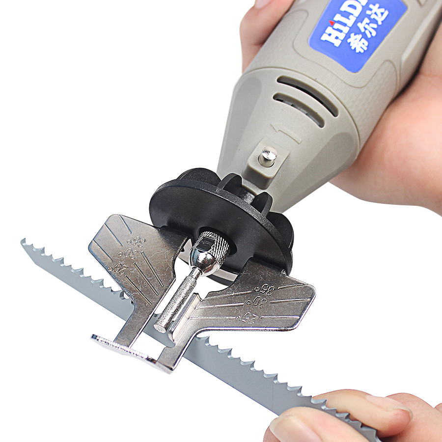 Chainsaw Sharpening Attachment Sharpener Guide Drill Adapter Power Tool Accessories for Dremel Drill Rotary Accessories