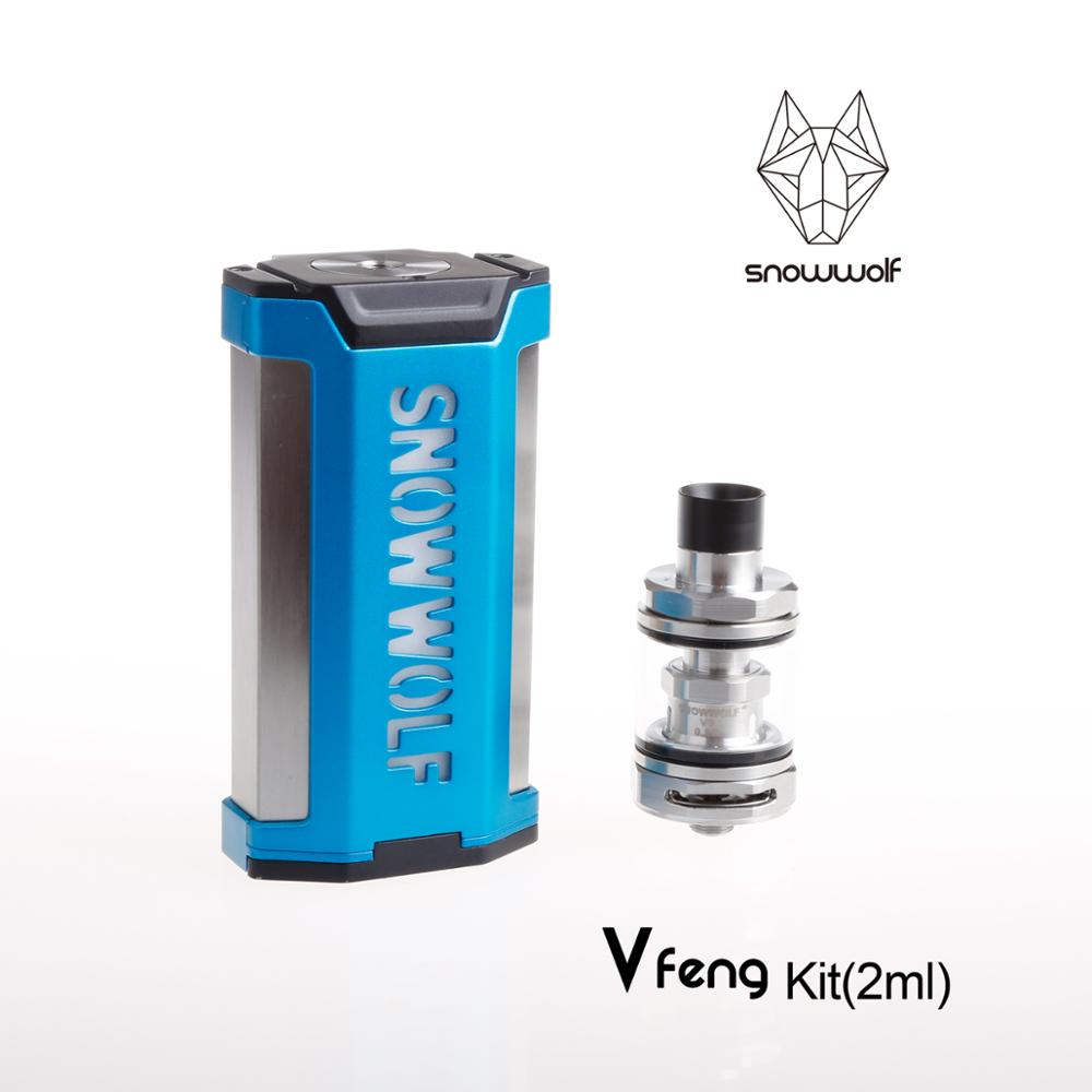 3pcs/lot Snowwolf Vfeng electronic cigarette kit 230W cool handle starter e cigarette with atomizer e-cigarettes vape mod box original yuntwo ice fresh cool orange vape juice for e cigarette