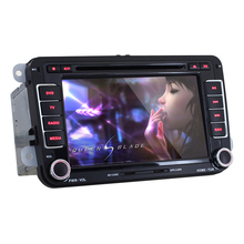 For Volkswagen J-8813 Touch Screen  Android 4.4 8 inch 2 Din  Car DVD Player  with  GPS Quad-Core DDR3 1G Flash 8G