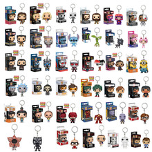 New Arrival FUNKO POP Pocket Toy Keychain Marvel Iron Man Game of Thrones Daenerys Harry Potter Collectible Key Ring Model Gifts цена и фото