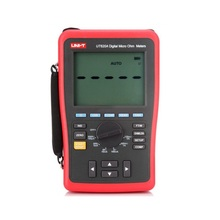 цена на UNI-T UT620A Digital Micro Ohm Meter; Manual Range DC Low Resistance Tester, Data Storage/USB Data Transfer/Data Hold