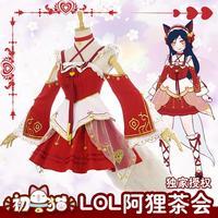 [STOCK]2018 anime LOLlolita Ali the fox dress cosplay Japan Costume For Halloween Free Shipping HOT SALE