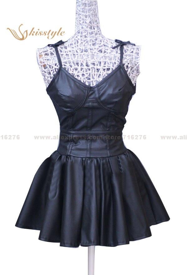 Kisstyle Fashion Future Diary Mirai Nikki Gasai Yuno Fekete napi ruha - Jelmezek