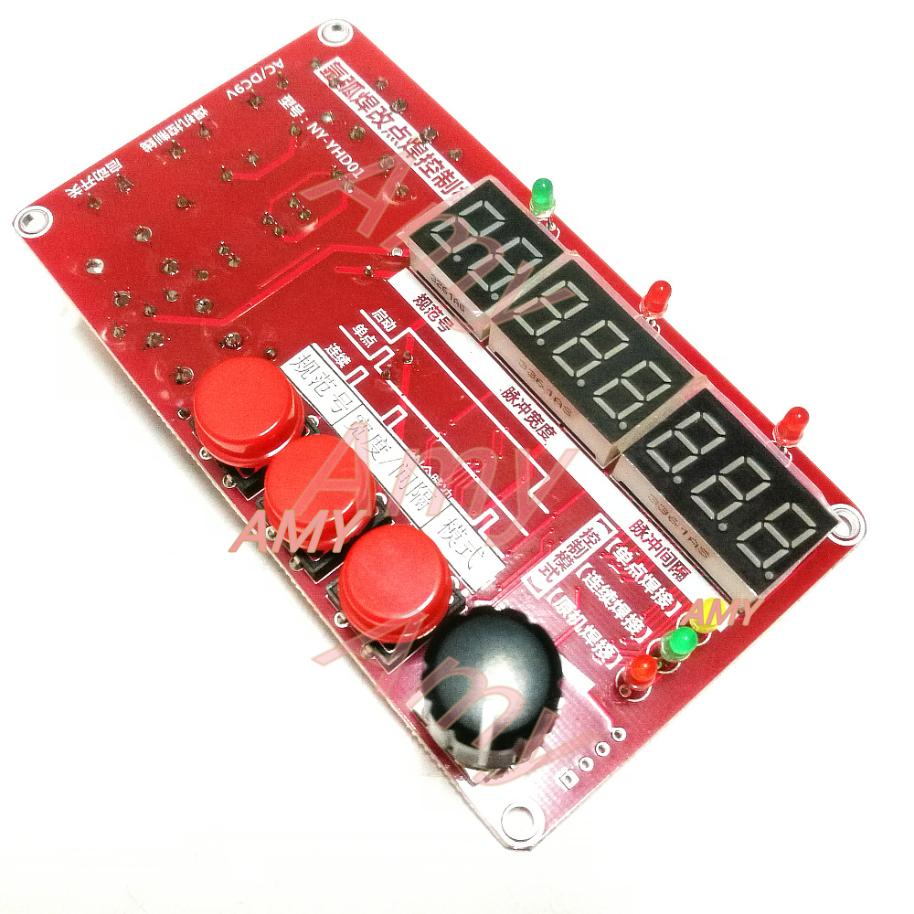 Argon Arc Welding Spot Welding Cold Welding Plate Cold Modified Imitation Control Pulse Time Controller NY-YHD01