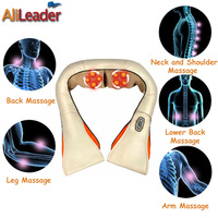 Hot Selling Multifunction Infrared Full Body Assager Machine Health Care Equipment Car Home Massage Pillow With