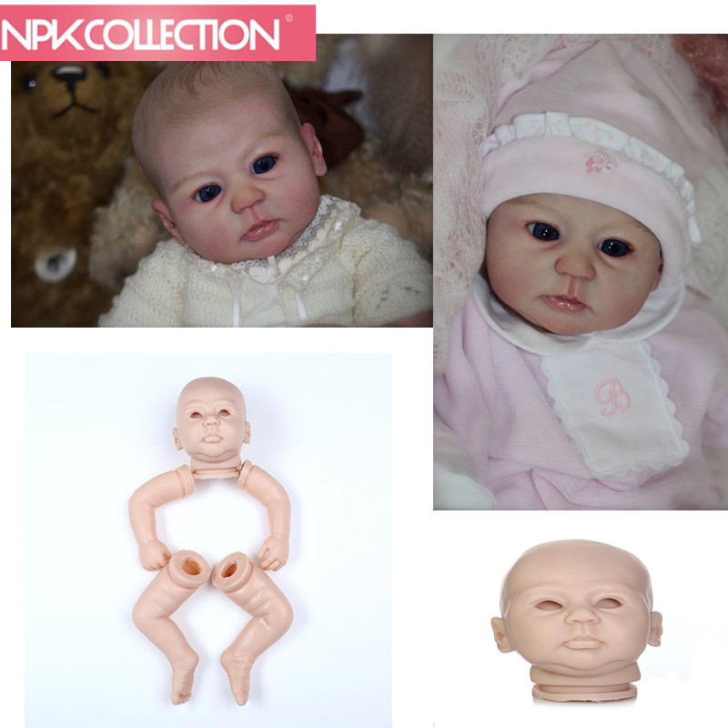 Reborn doll kit limited edidtion lifelike soft silicone vinyl real gentle touch cheap unpainted doll parts full vinyl body npkcollection reborn doll kit wholesale unpainted blank doll kit soft vinyl reborn full vinyl body dakota