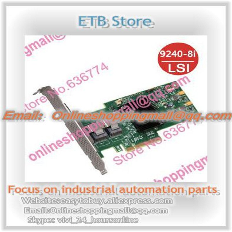9240-8i 6gb sas array card raid5 box