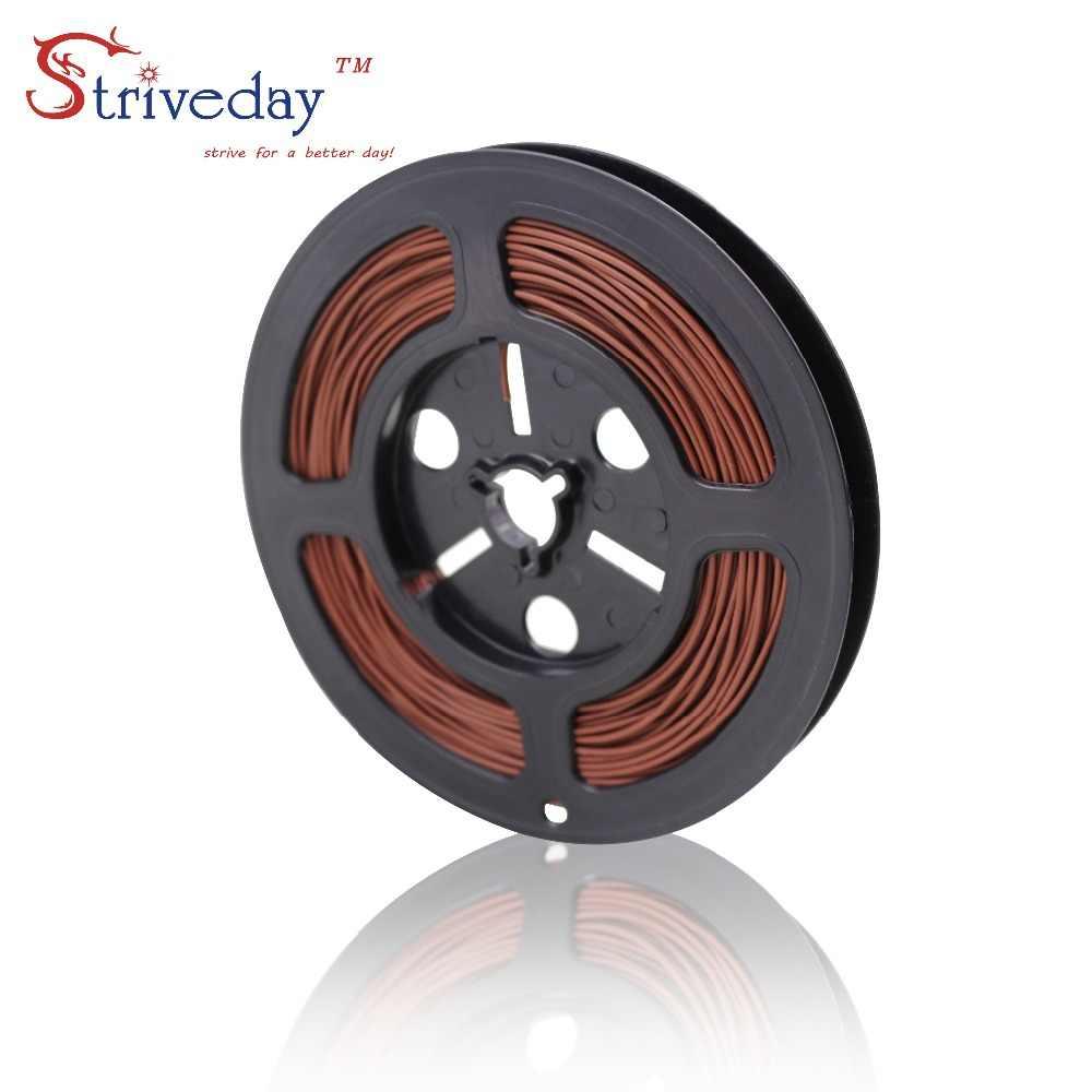5 メートル/16.4ft UL 1007 20 AWG ケーブル錫メッキ銅線 PCB 電線ケーブル機器ワイヤー