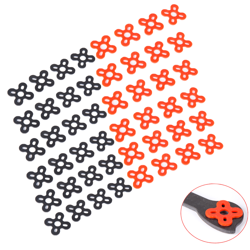 100pcs/lot silicone rubber motor spacer damper/ Soft Mounting Motor Plate/motor shock pad for FPV 13/14/22/23 series motor