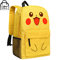 [Newtall] 2017 novo anime pokemon pikachu kawaii bonito dos desenhos animados mochila da escola dos miúdos bolsa de ombro frete grátis 16072934