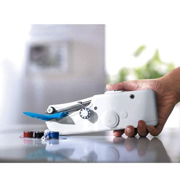 新しいホームミシンファストハンドテーブル片手用グローブミシン、携帯用ミシン、携帯用ミニミシン無料Shi maquina de coser de mano
