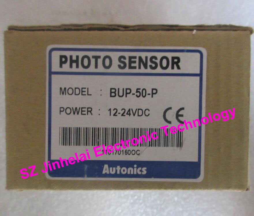 цена на 100% Authentic original BUP-50-P AUTONICS PHOTOELECTRIC SWITCH 12-24VDC