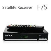 2018 HOT SOLOVOX F7S DVB-S2 HD Receptor de Satélite Apoio CCCAMD NEWCAMD Com 6 meses de TV Roda De código 250 + REINO UNIDO AO VIVO canal