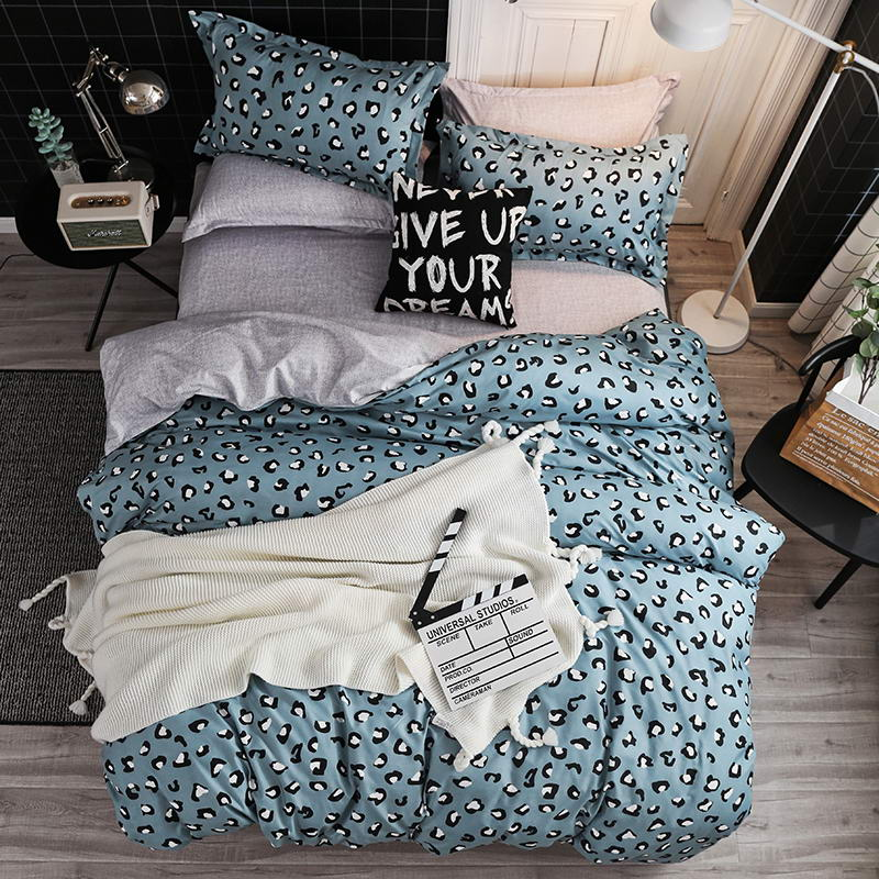 Bedding Set Fashion Luxury  Stars Home Textile   Duvet Cover Bed Linen Sheet Soft Comfortable 3/4pcs King Queen Full Twin Size