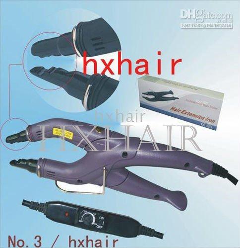 Freeshipping - 20pcs No.3 Adjust-Temp Hair Extension Fusion Connector / Hair Extension Fusion Iron / Hair Fusion Iron